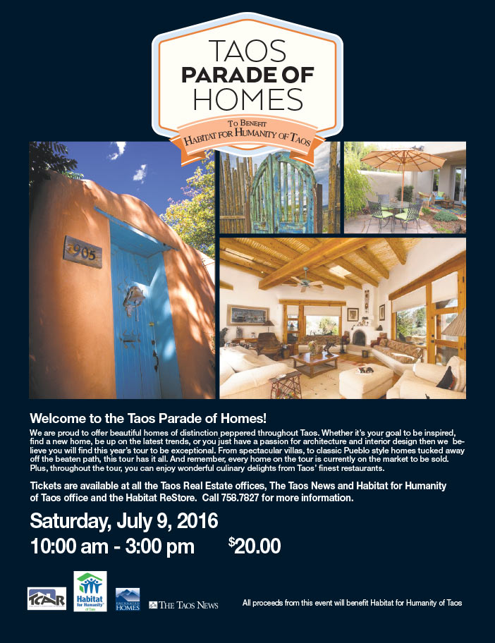 Taos Parade of Homes 2016 - Benefiting Habitat for Humanity of Taos